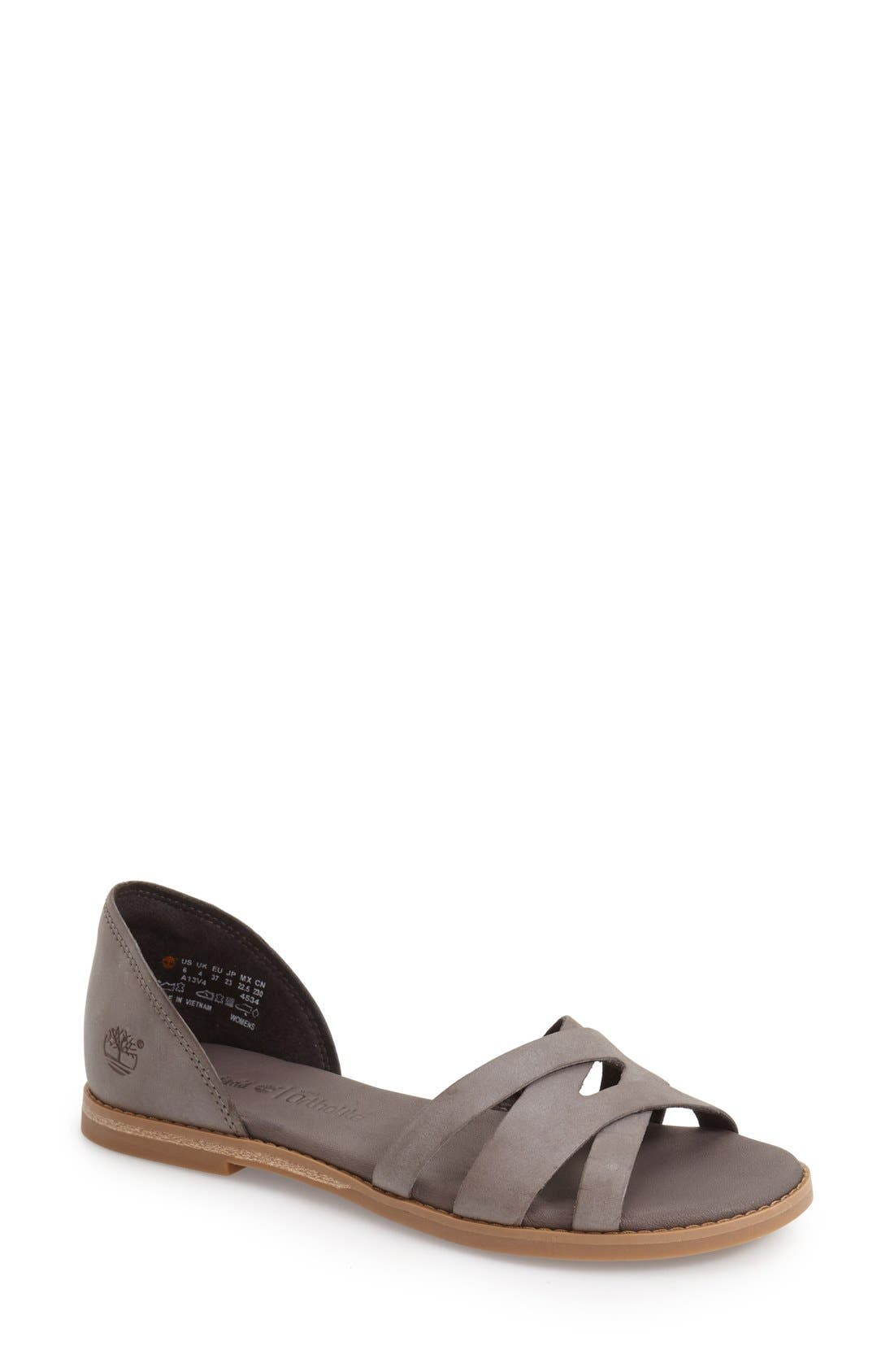 Timberland 'Caswell' Closed Back Sandal (Women)