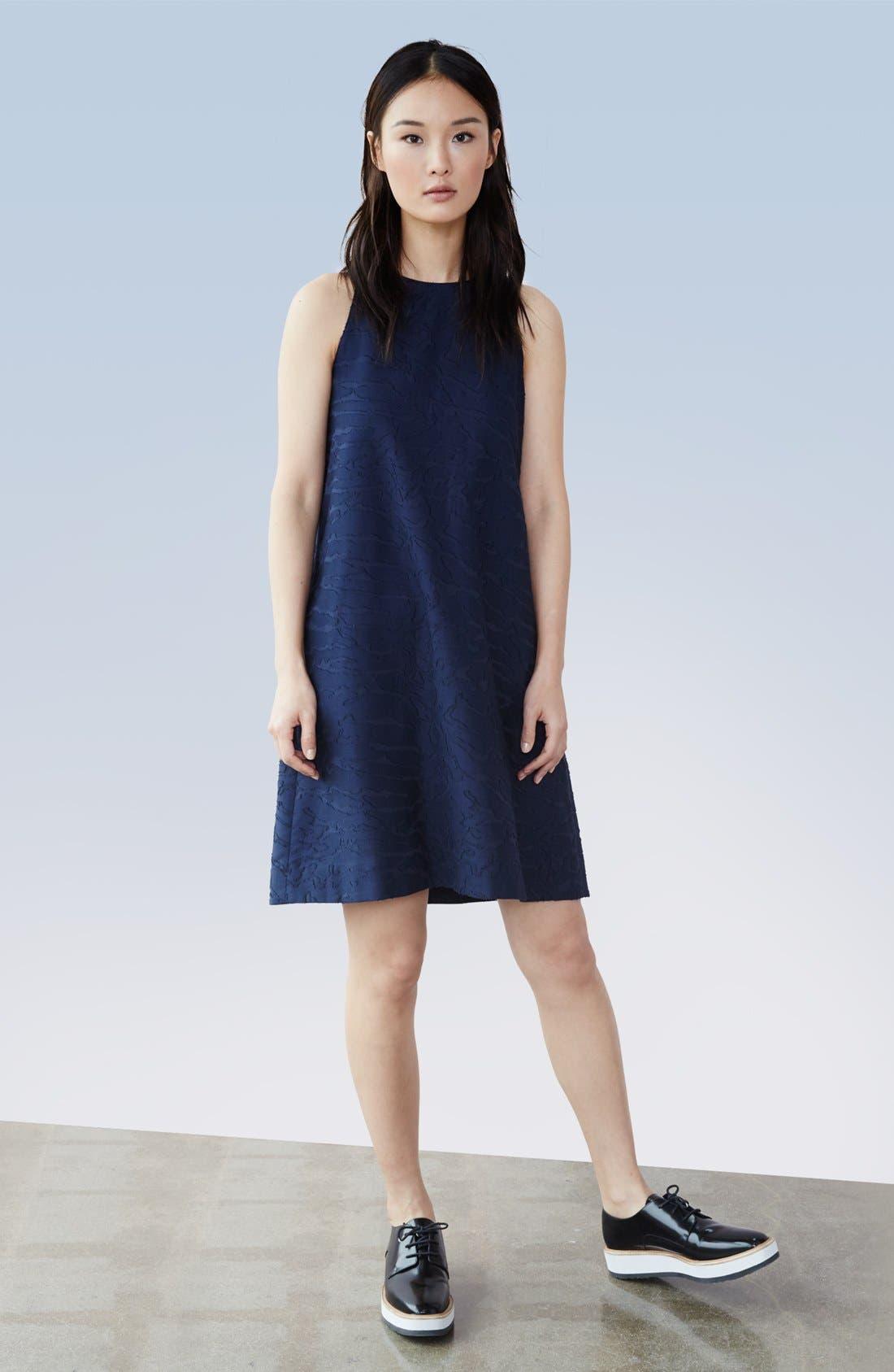 Alternate Image 6  - Vince Fil Coupé Sleeveless Shift Dress (Nordstrom Exclusive)