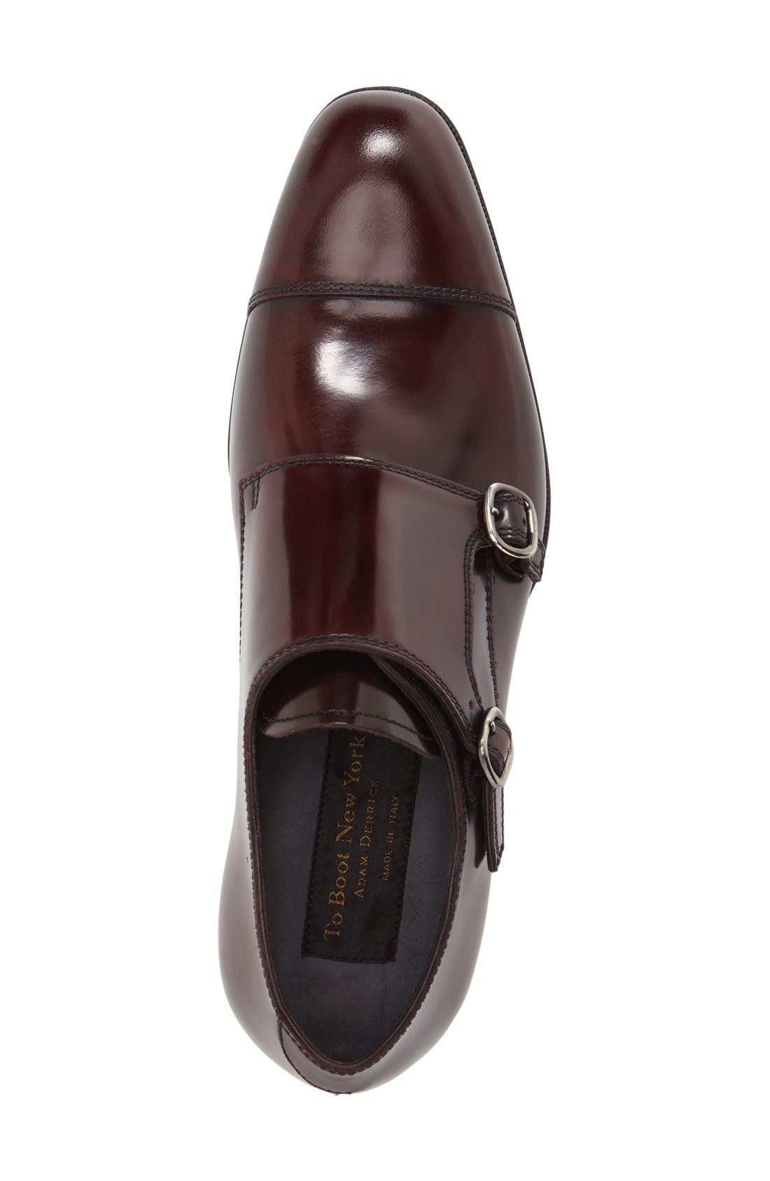 Alternate Image 3  - To Boot New York 'Bailey' Double Monk Strap Shoe (Men)