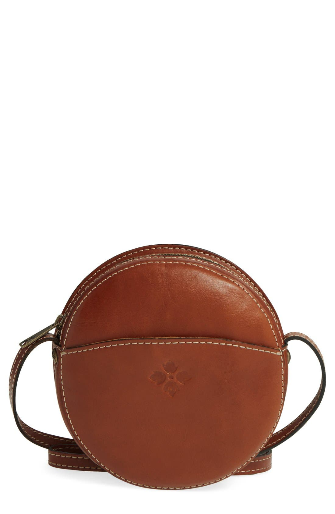 Alternate Image 1 Selected - Patricia Nash 'Small Scafati' Leather Crossbody Bag