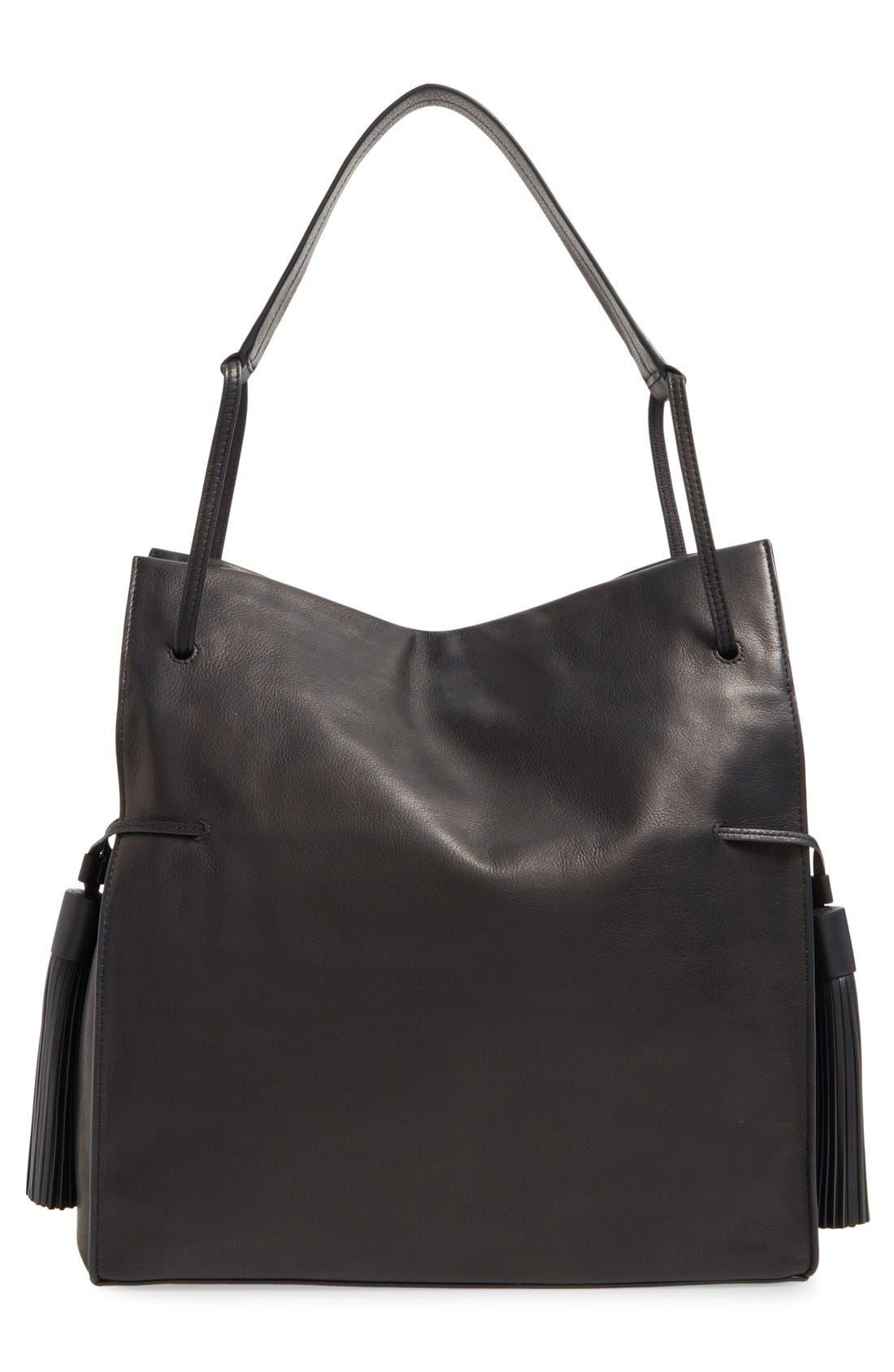 Alternate Image 3  - ALLSAINTS 'Freedom' Tassel Leather Hobo