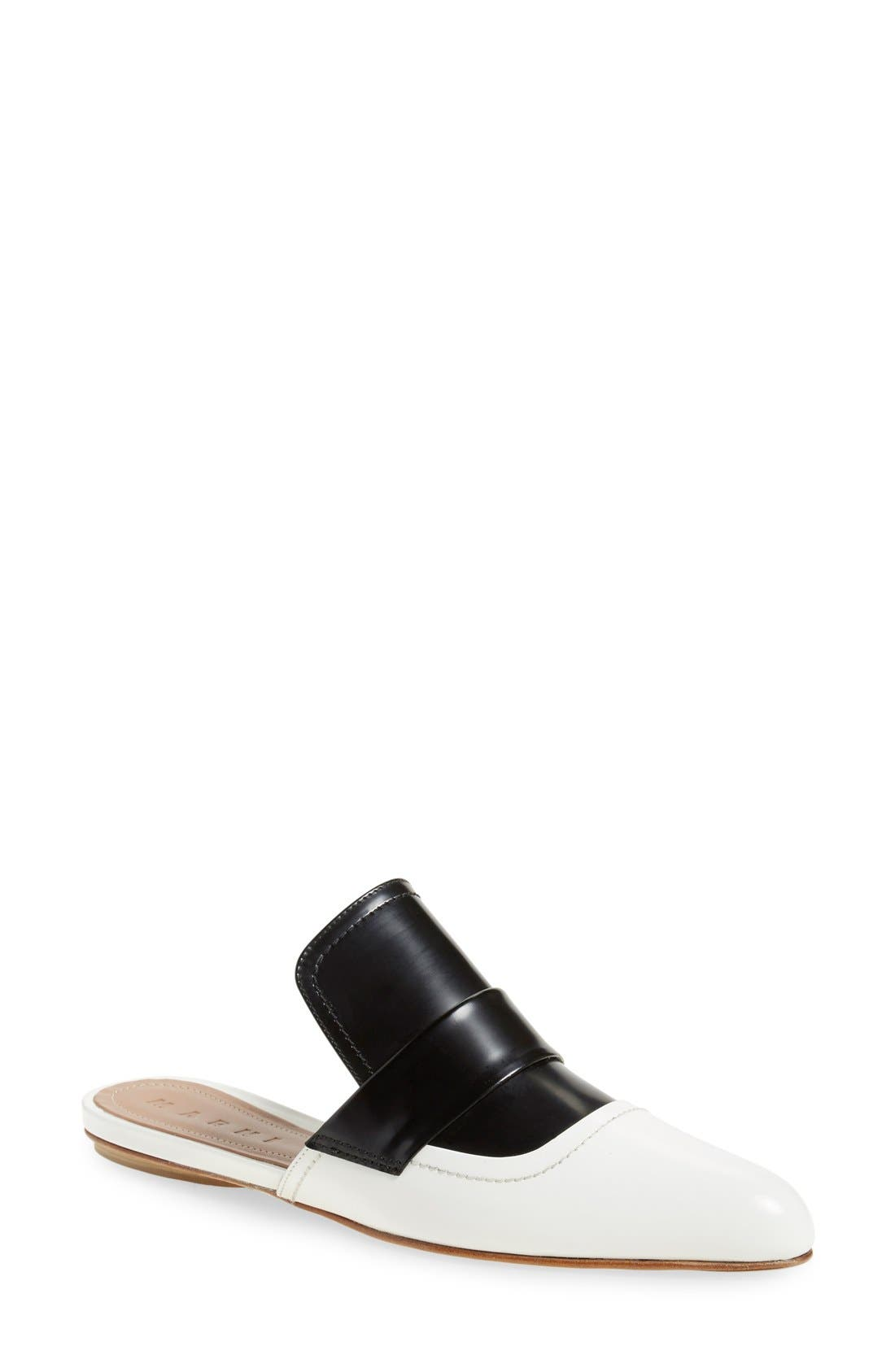 Alternate Image 1 Selected - Marni 'Sabot' Slide Loafer (Women)