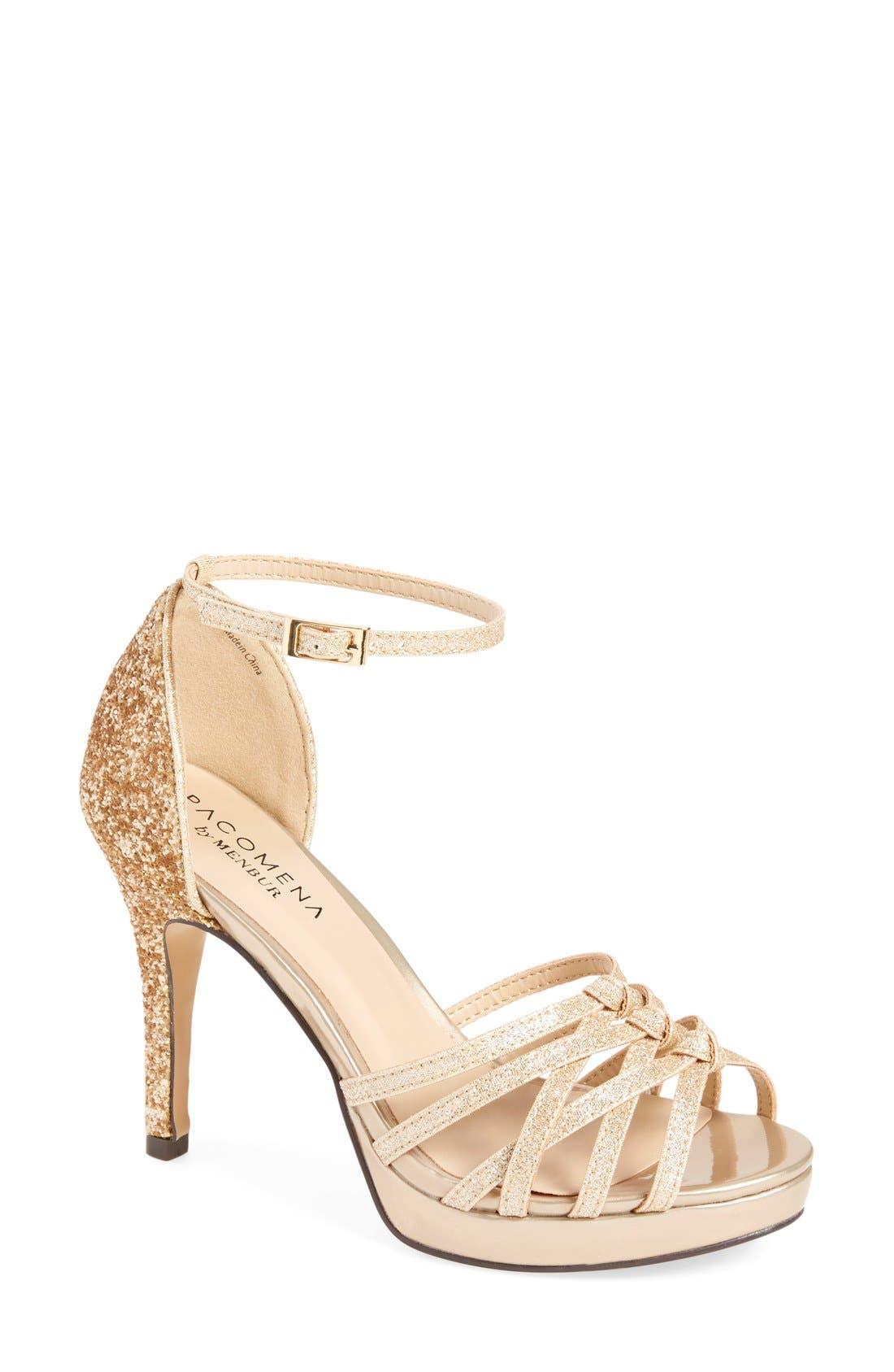 MENBUR 'Torenia' Evening Sandal