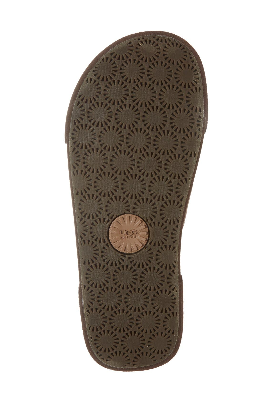 Alternate Image 4  - UGG® 'Ithan' Slide Sandal (Men's)