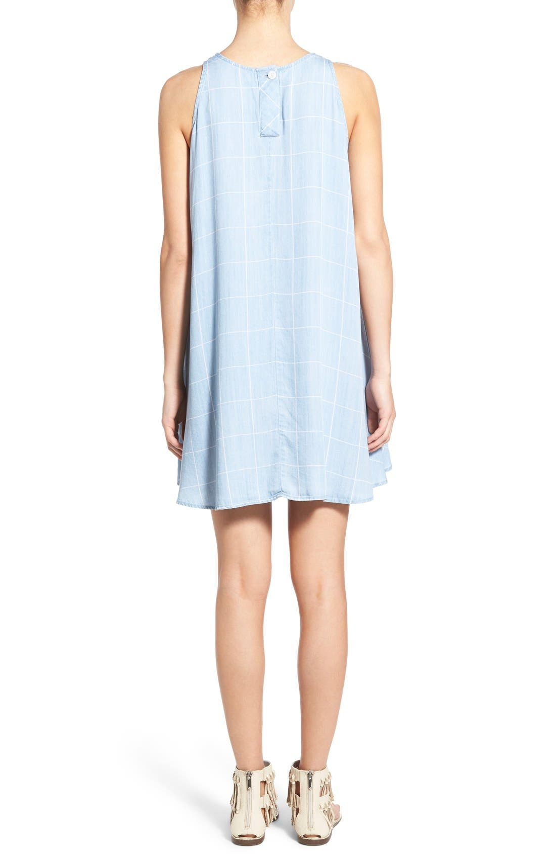 Alternate Image 2  - Rails 'Anya' Check Chambray Shift Dress
