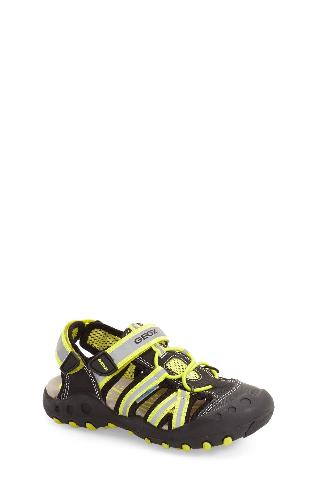 Alternate Image 1 Selected - Geox 'Kyle' Sandal (Toddler, Little Kid & Big Kid)