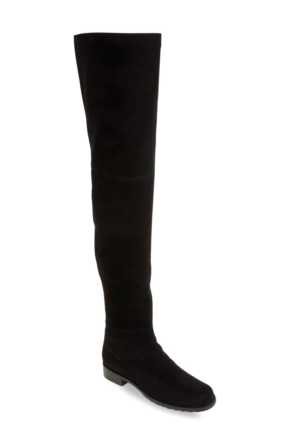 Main Image - Stuart Weitzman 'Hilo' Thigh High Boot (Women) (Nordstrom Exclusive)