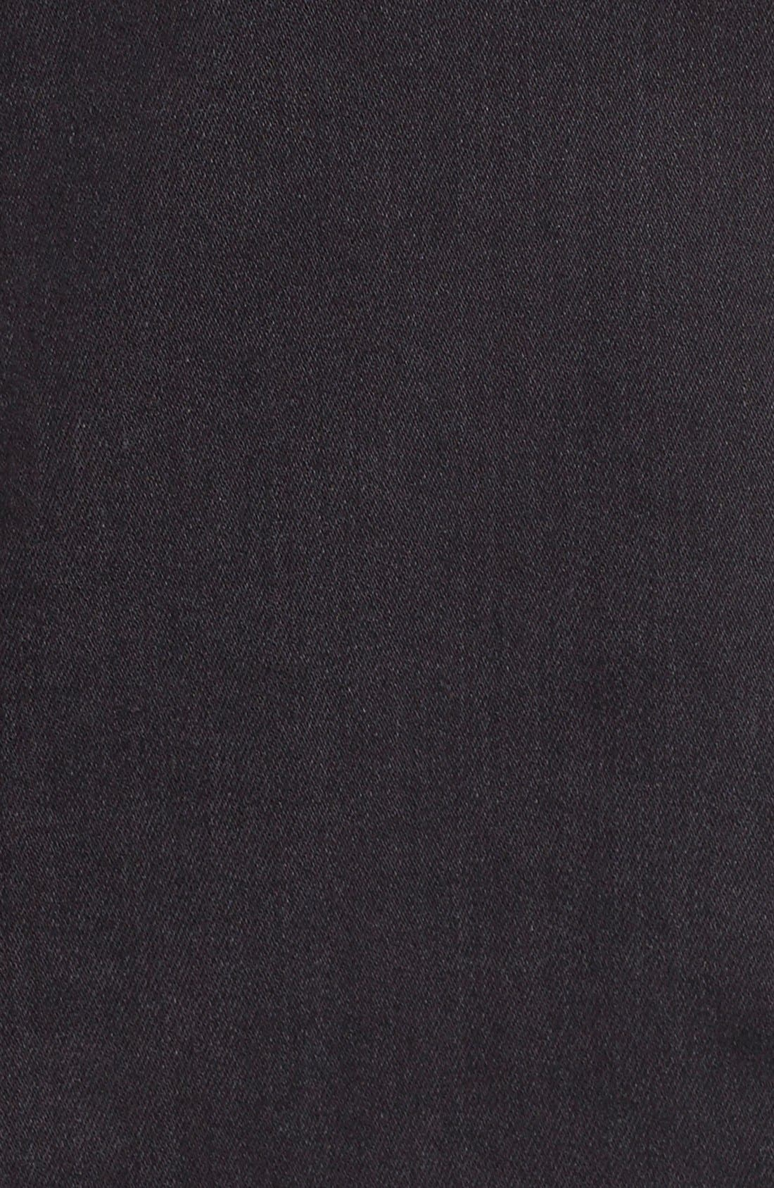 Alternate Image 5  - Fine by Superfine 'Grace' Drape Front Denim Vest