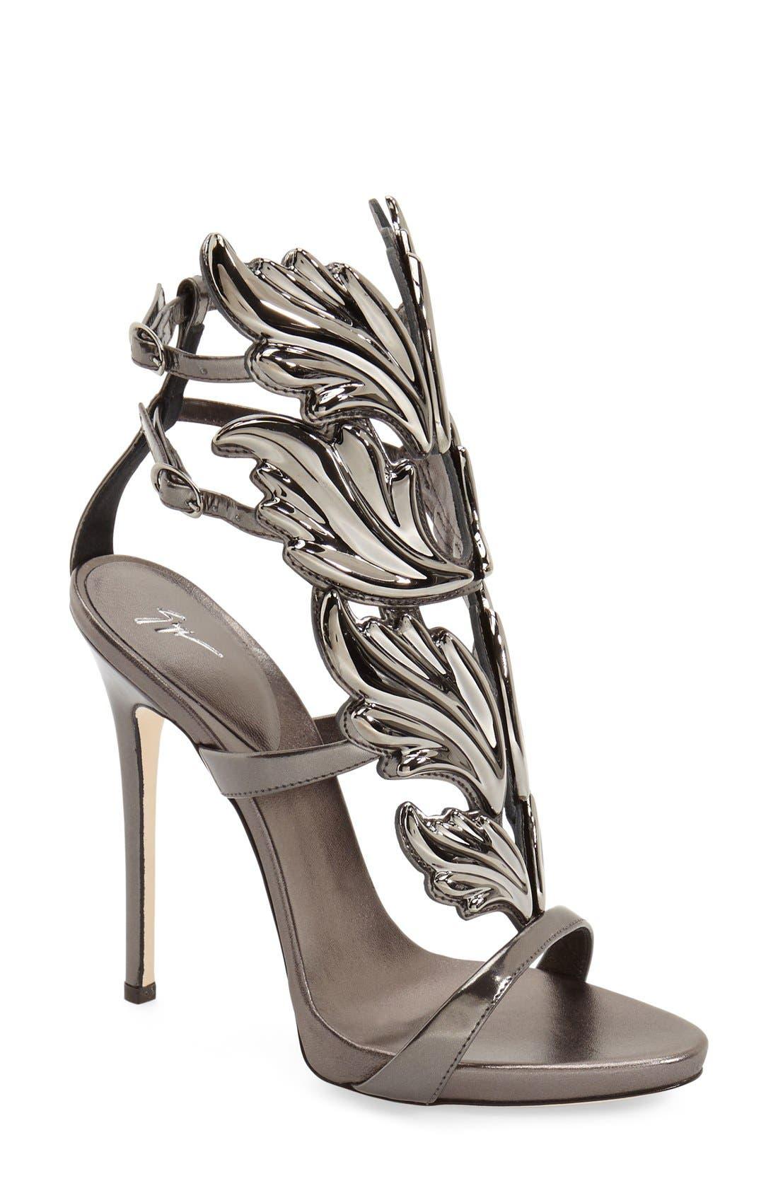 Main Image - Giuseppe Zanotti 'Cruel' Wing Sandal (Women) (Nordstrom Exclusive)