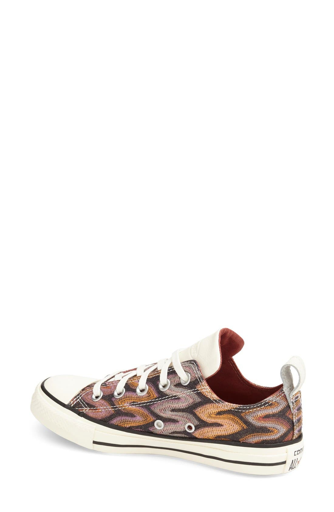 Alternate Image 2  - Converse x Missoni Chuck Taylor® All Star® 'Flame - Ox' Sneaker (Women)