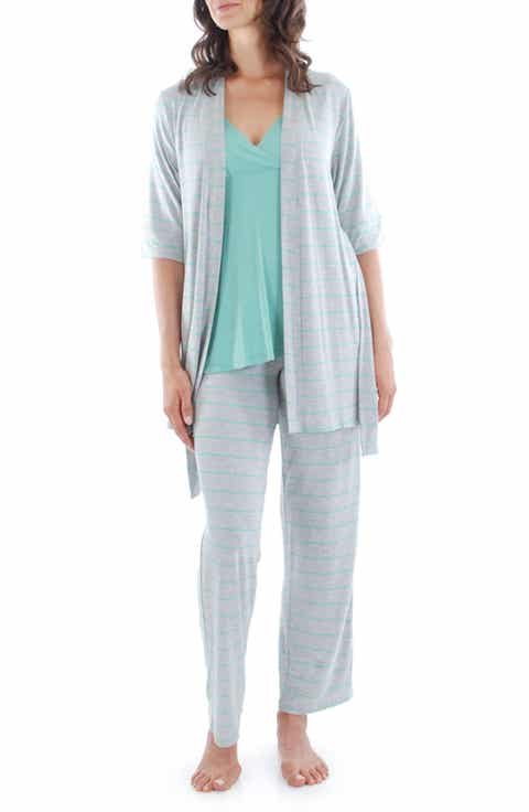 Everly Grey Roxanne - During   After 5-Piece Maternity Sleepwear Set