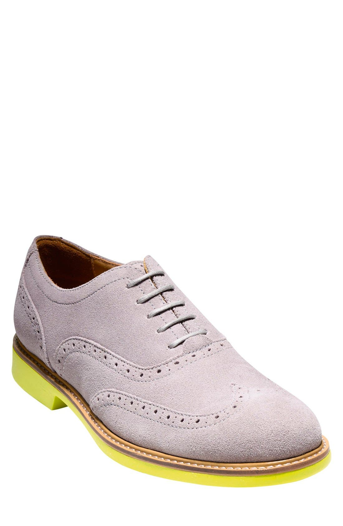 Alternate Image 1 Selected - Cole Haan 'Great Jones' Wingtip   (Men)