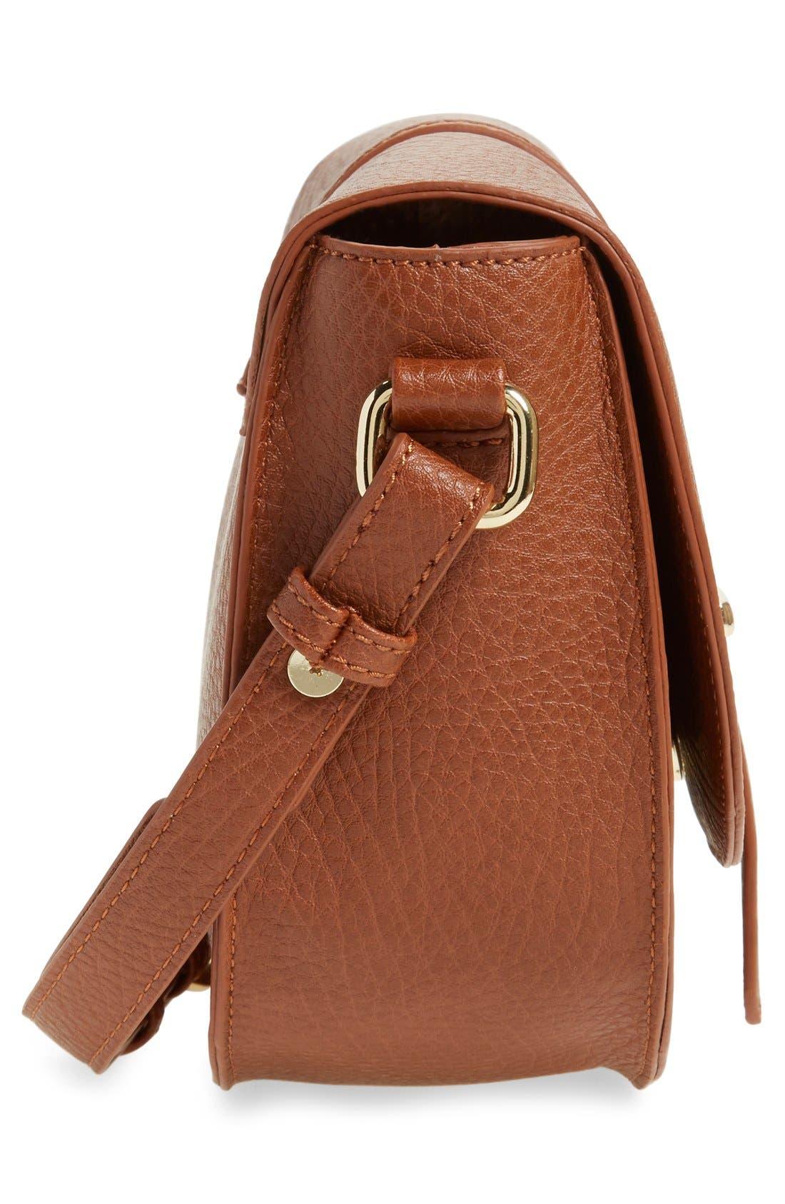 Alternate Image 5  - BP. Faux Leather Saddle Crossbody Bag
