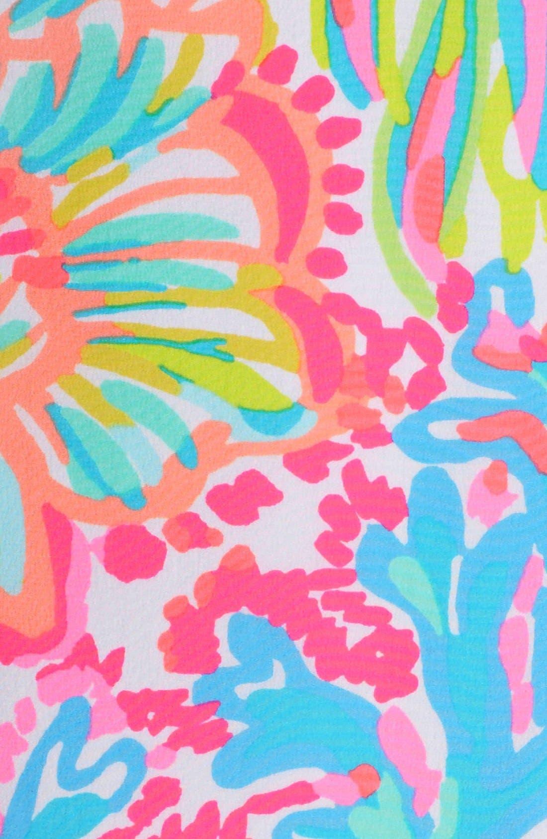 Alternate Image 5  - Lilly Pulitzer® 'Dusk' Print Silk Slipdress