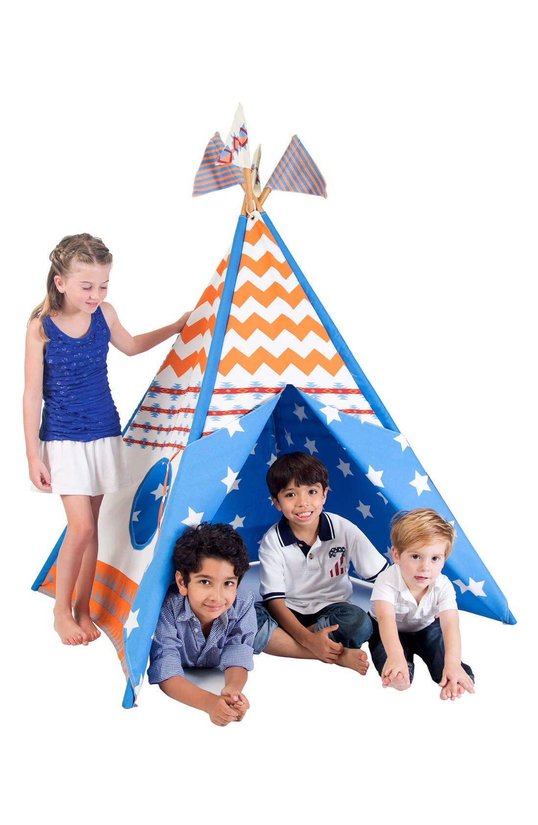 Alternate Image 3  - Pacific Play Tents 'Vintage' Cotton Canvas Teepee