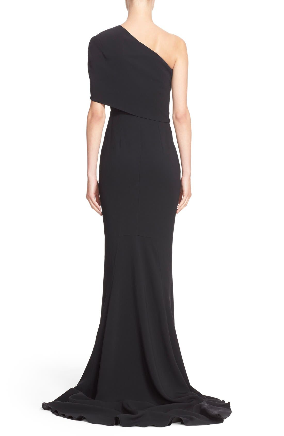 Alternate Image 2  - Stella McCartney 'Shiloh' One-Shoulder Column Gown