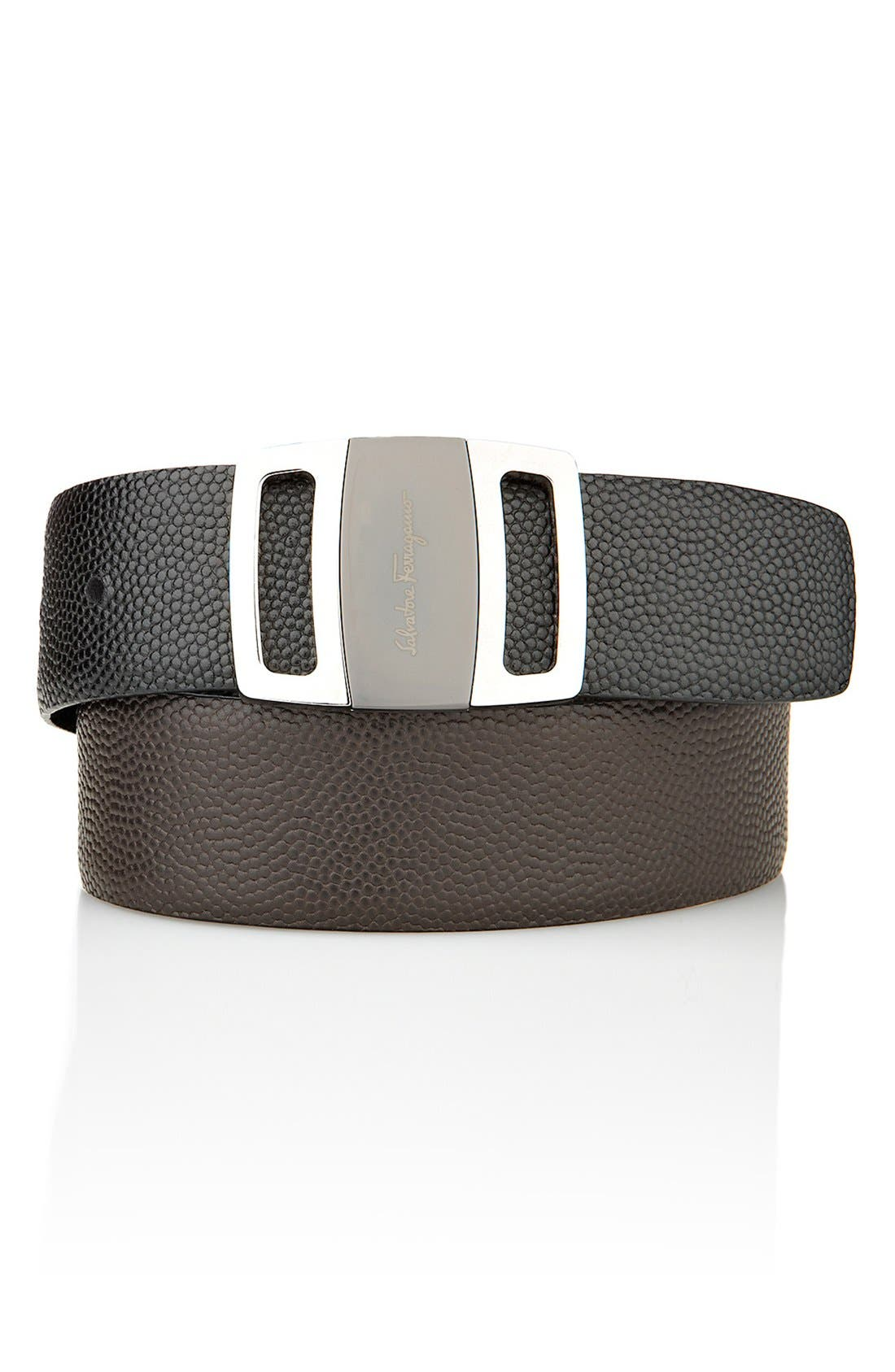 Alternate Image 6  - Salvatore Ferragamo Reversible Leather Belt