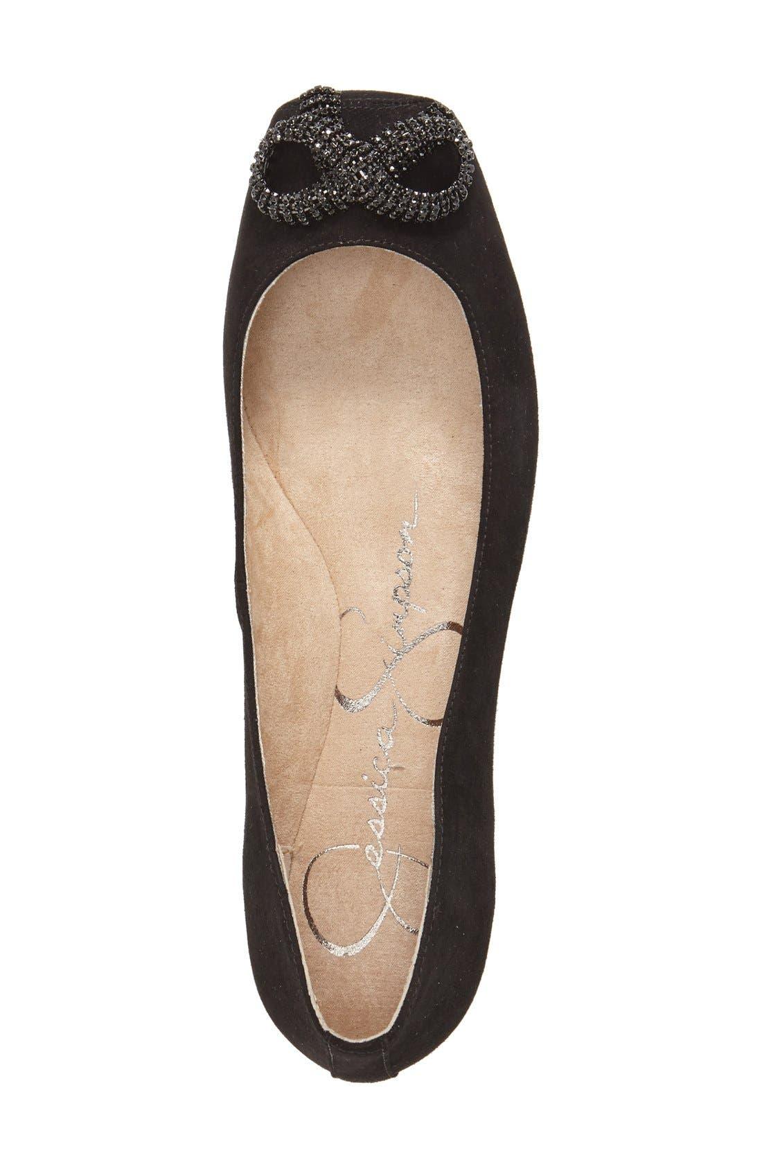Alternate Image 3  - Jessica Simpson 'Marelda' Square Toe Flat (Women)