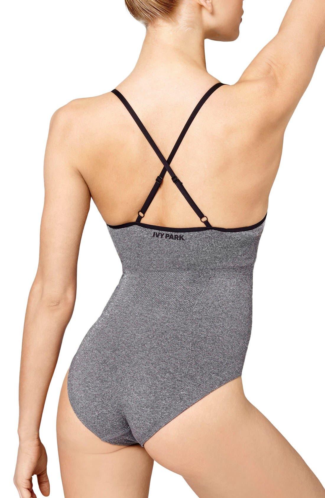 Alternate Image 2  - IVY PARK® Seamless Strappy Bodysuit