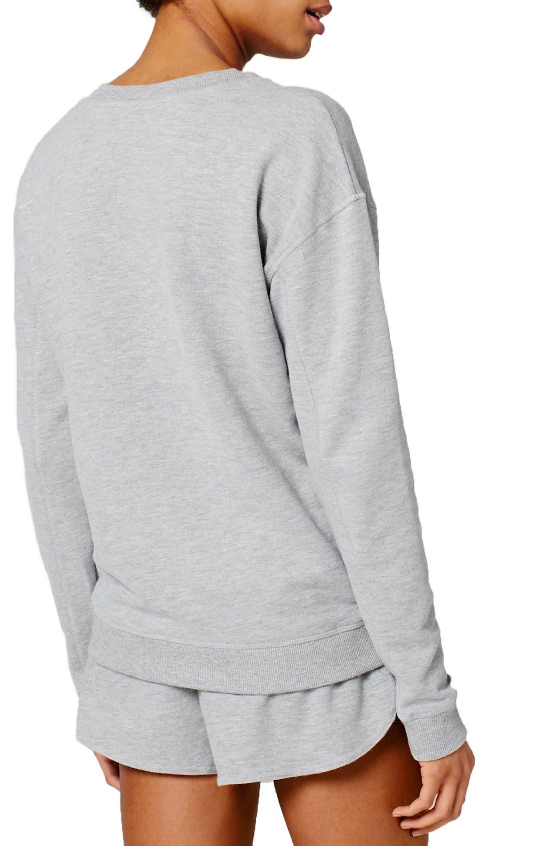 Alternate Image 3  - IVY PARK® Logo Crewneck Sweatshirt
