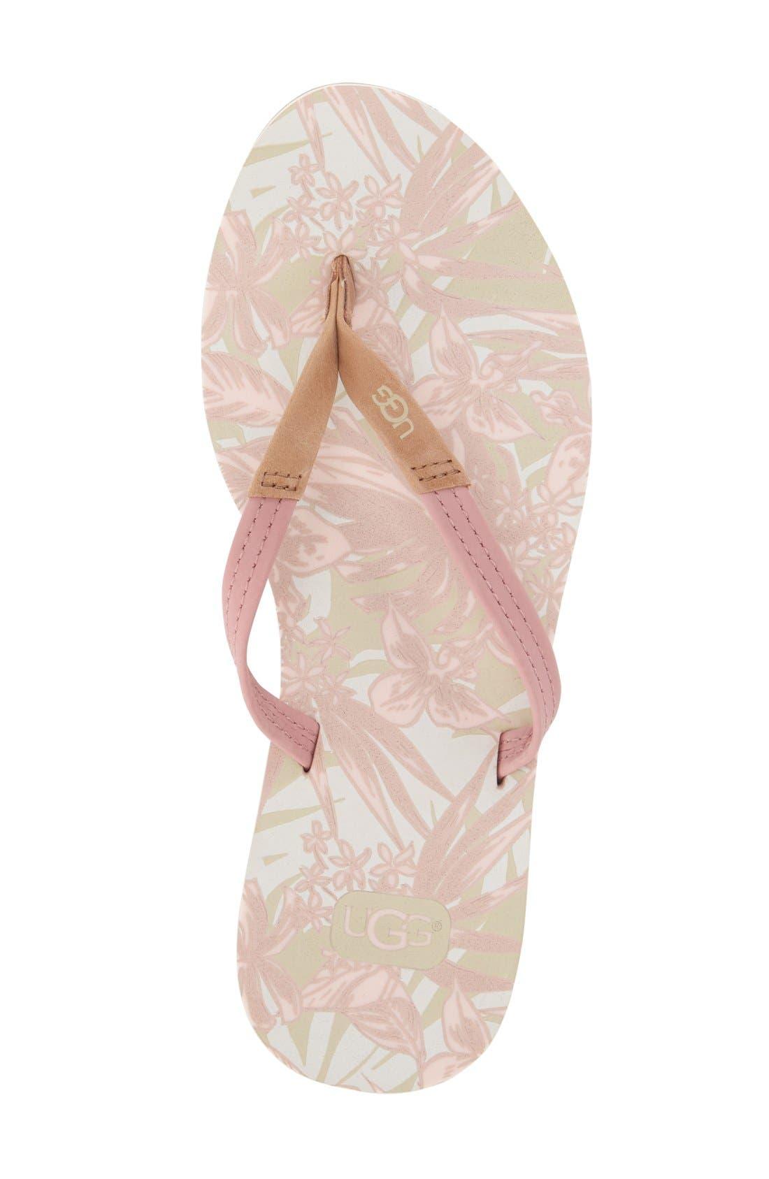 Alternate Image 3  - UGG® 'Magnolia Island' Flip Flop (Women)