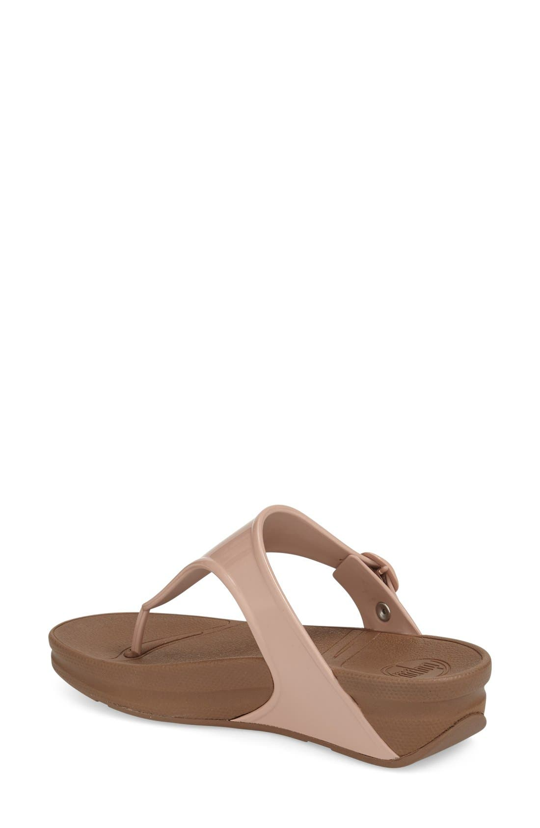 Alternate Image 2  - FitFlop™ 'Superjelly' Thong Sandal