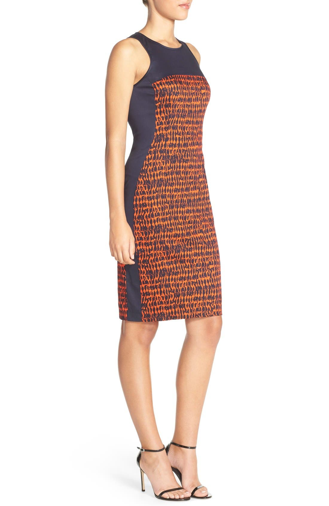 Alternate Image 3  - French Connection 'Canyon Sands' Sateen Sheath Dress