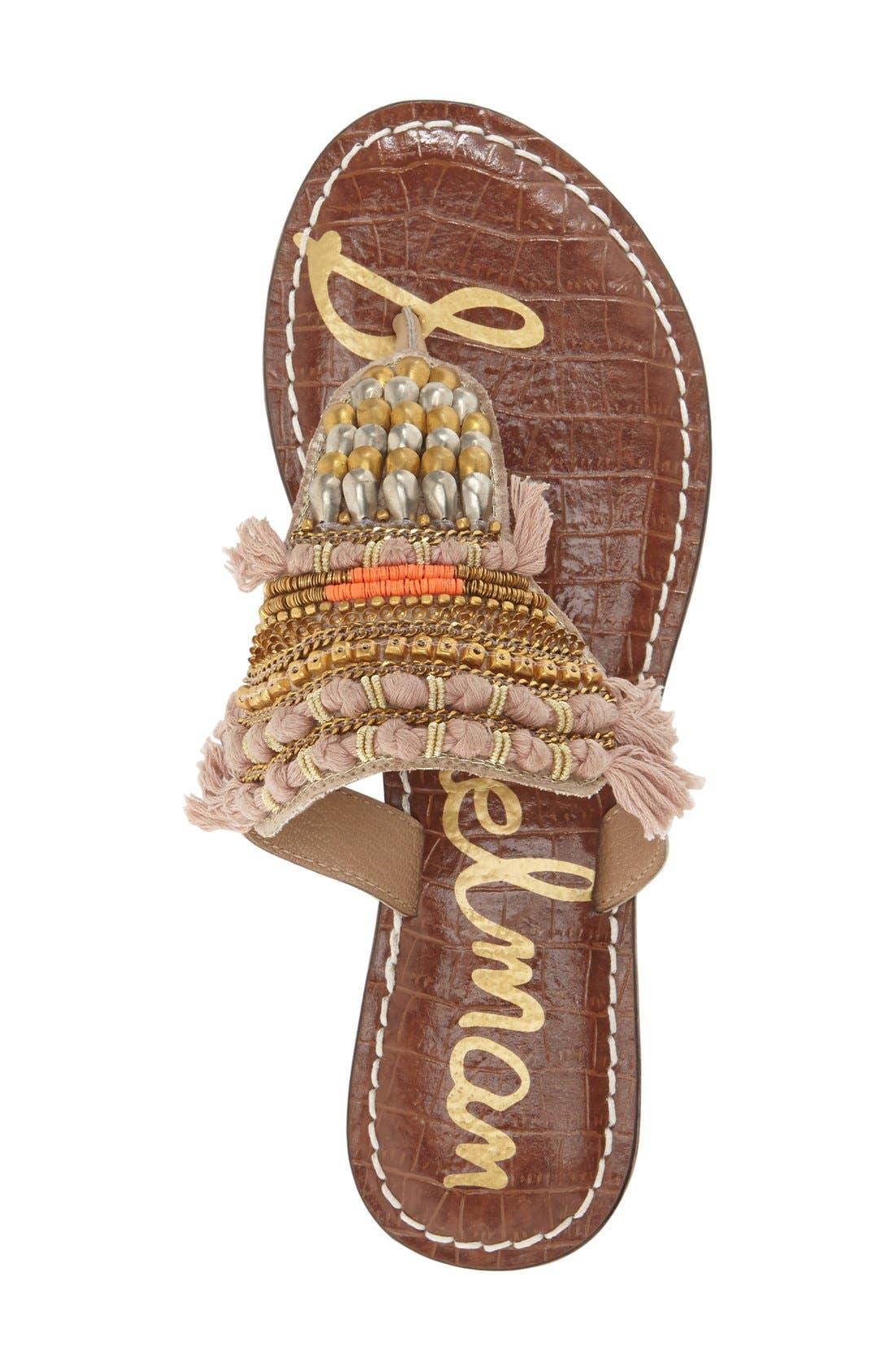 Alternate Image 3  - Sam Edelman 'Kathy' Thong Sandal (Women)