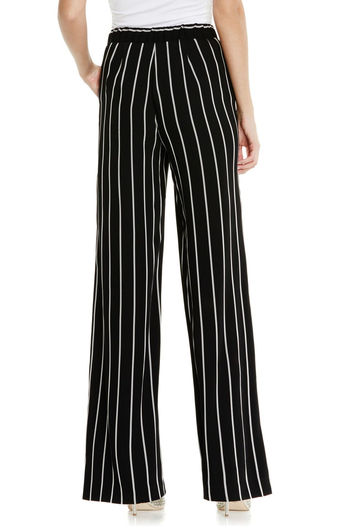 Alternate Image 4  - Vince Camuto Stripe Wide Leg Pants