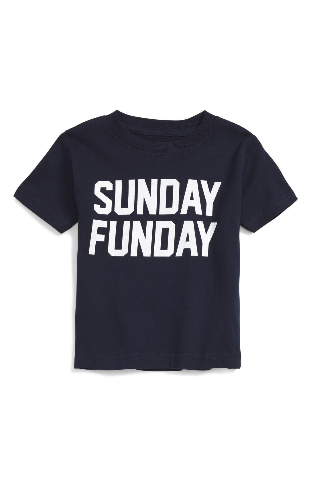 Kid Dangerous 'Sunday Funday' Graphic T-Shirt (Baby)