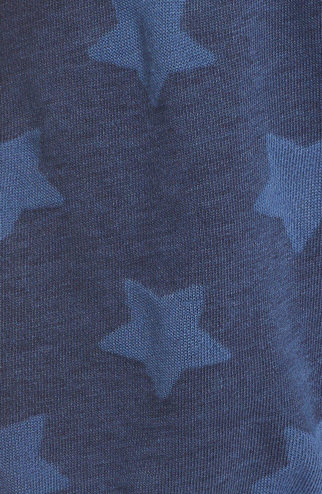 Alternate Image 5  - PJ Salvage 'Road Trip' Star Print Pajama Shorts