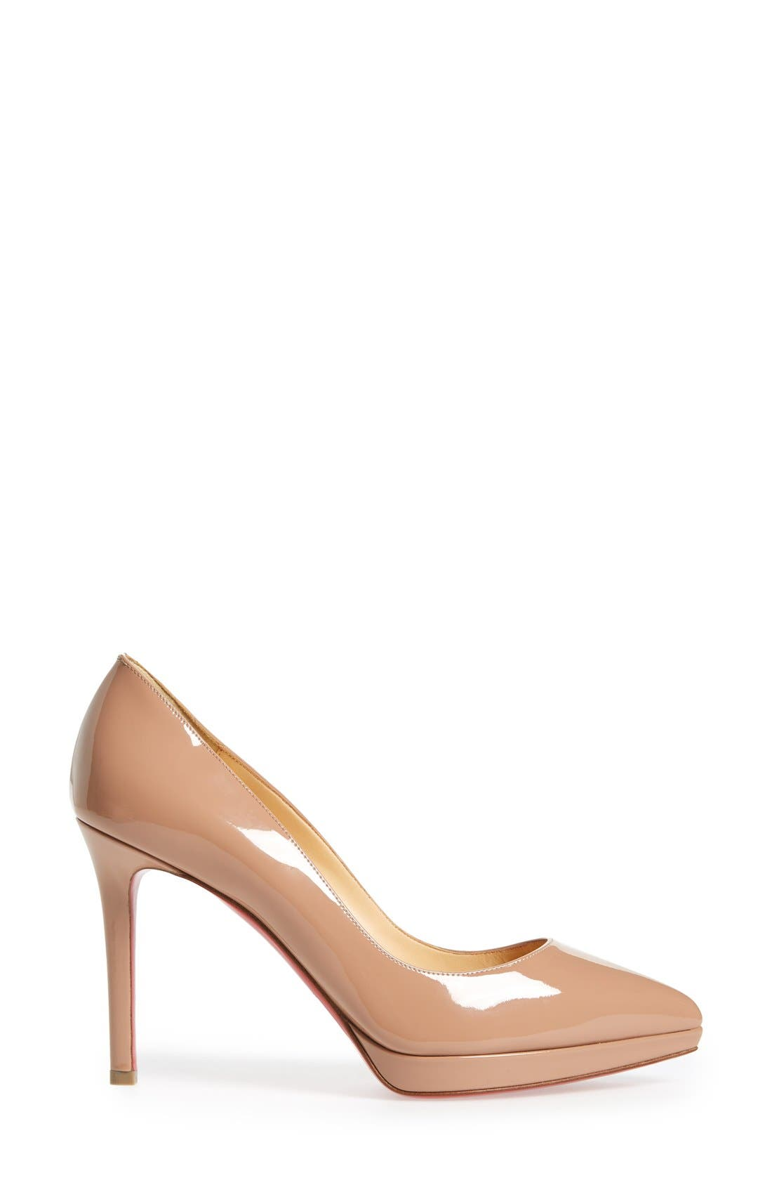 Alternate Image 4  - Christian Louboutin Pigalle Plato Pointy Toe Platform Pump