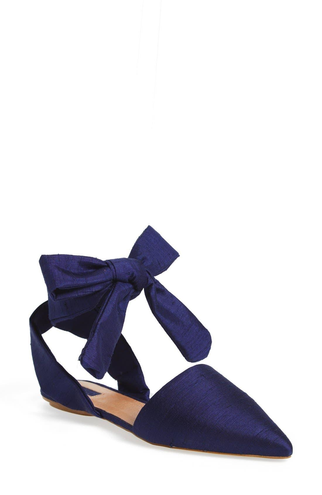 Alternate Image 1 Selected - Topshop 'Khloe' Pointy Toe Flat (Women)