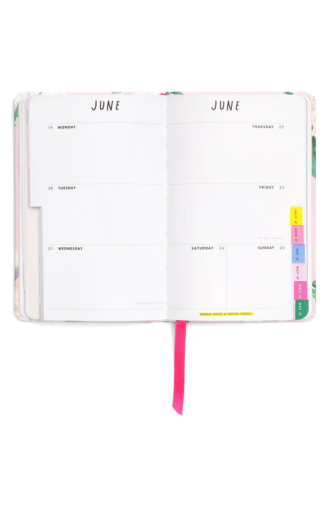 Alternate Image 3  - ban.do 'Classic' Hardcover 17-Month Agenda