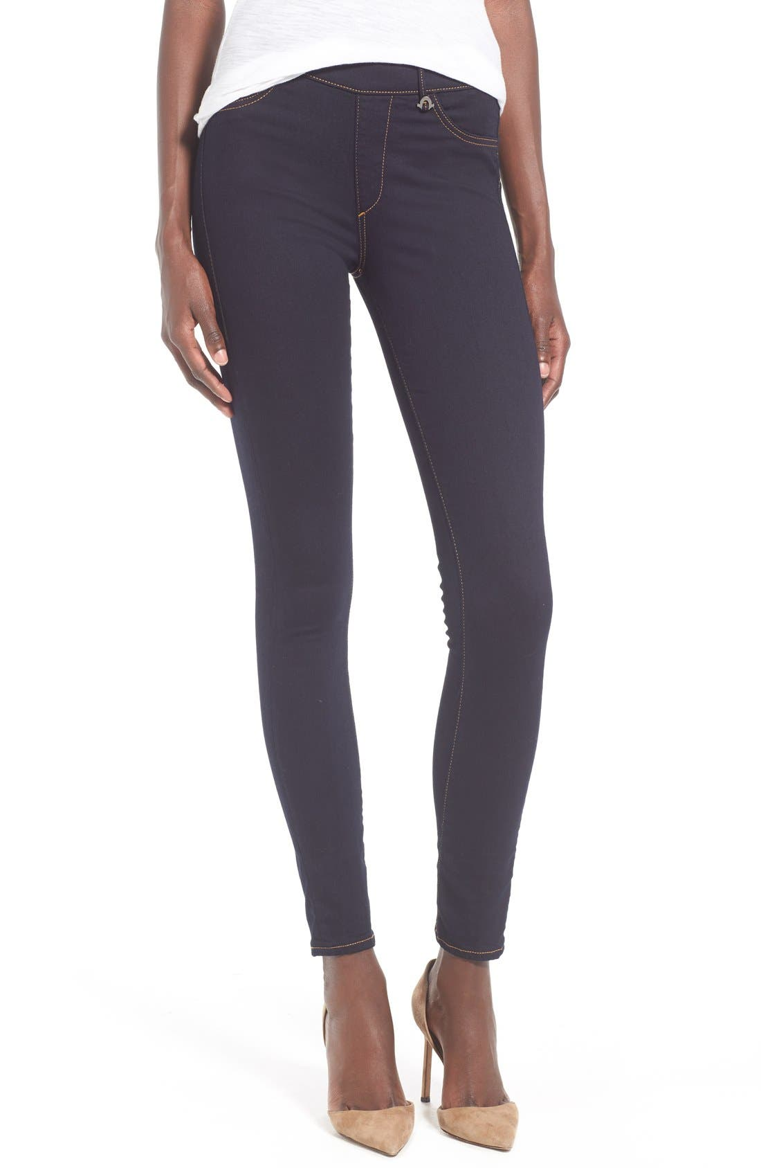 True Religion Brand Jeans 'Runway' Denim Leggings (Body Rinse)