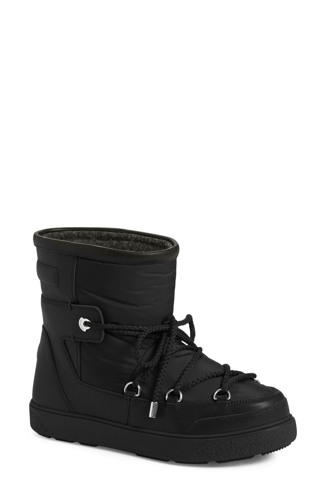 MONCLER 'New Fanny' Lace Up Ankle Boot