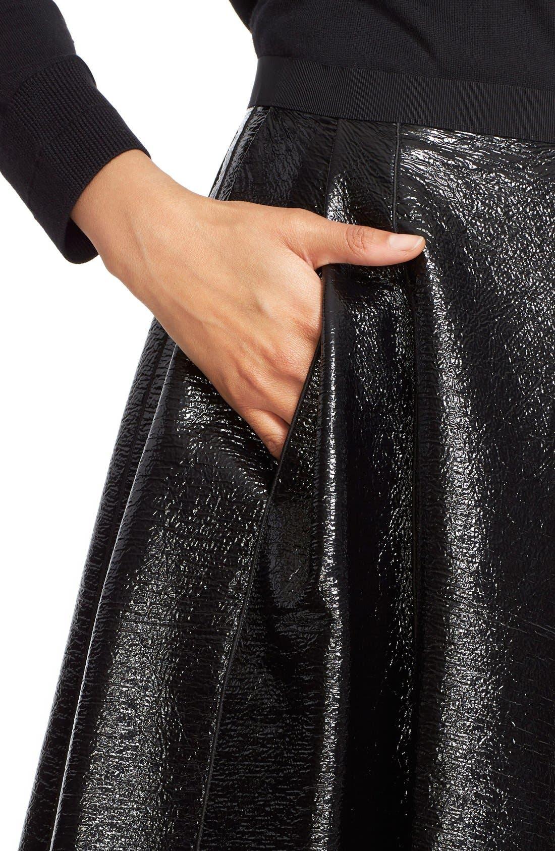 Alternate Image 6  - MARC JACOBS Pleated A-Line Skirt