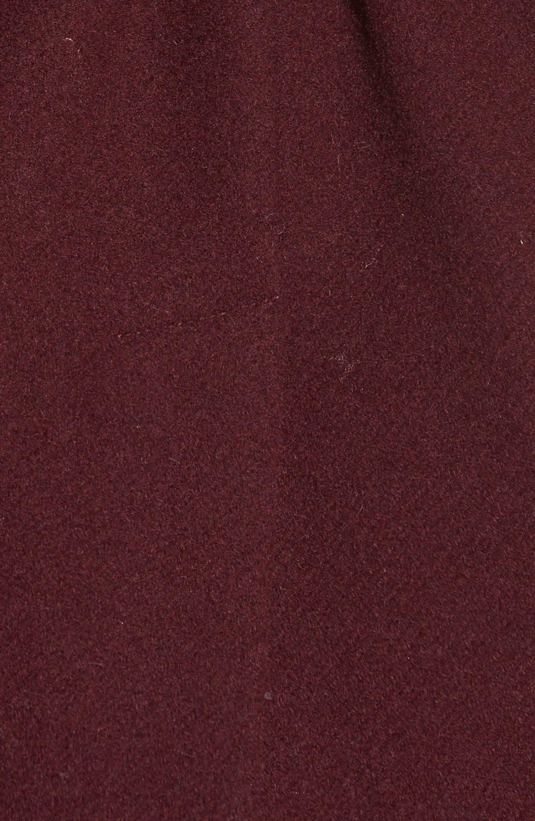 Alternate Image 5  - Halogen® Belted Short Wool Blend Coat (Regular & Petite)