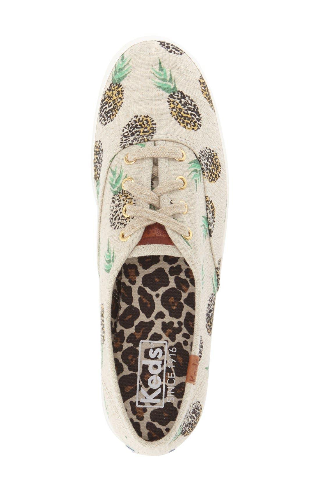 Alternate Image 3  - Keds® 'Champion' Print Sneaker (Women)