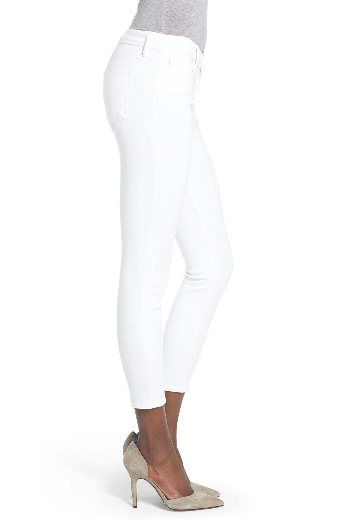 Alternate Image 3  - J Brand Capri Skinny Jeans