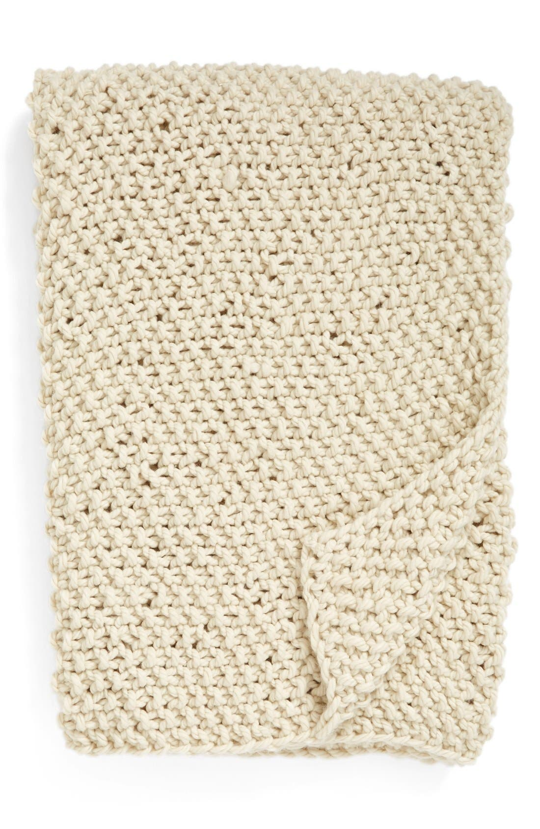 Nordstrom at Home Chunky Stitch Throw Blanket