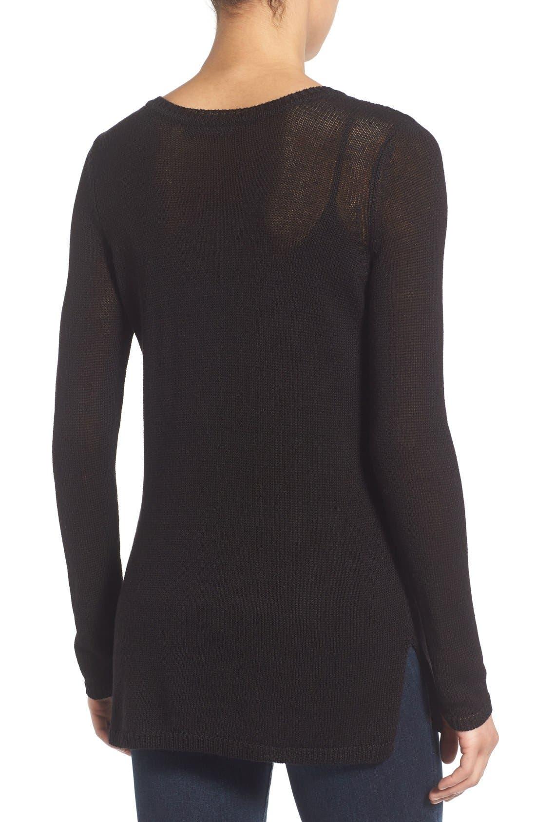 Alternate Image 3  - NIC+ZOE 'Speared' Print Lightweight Sweater