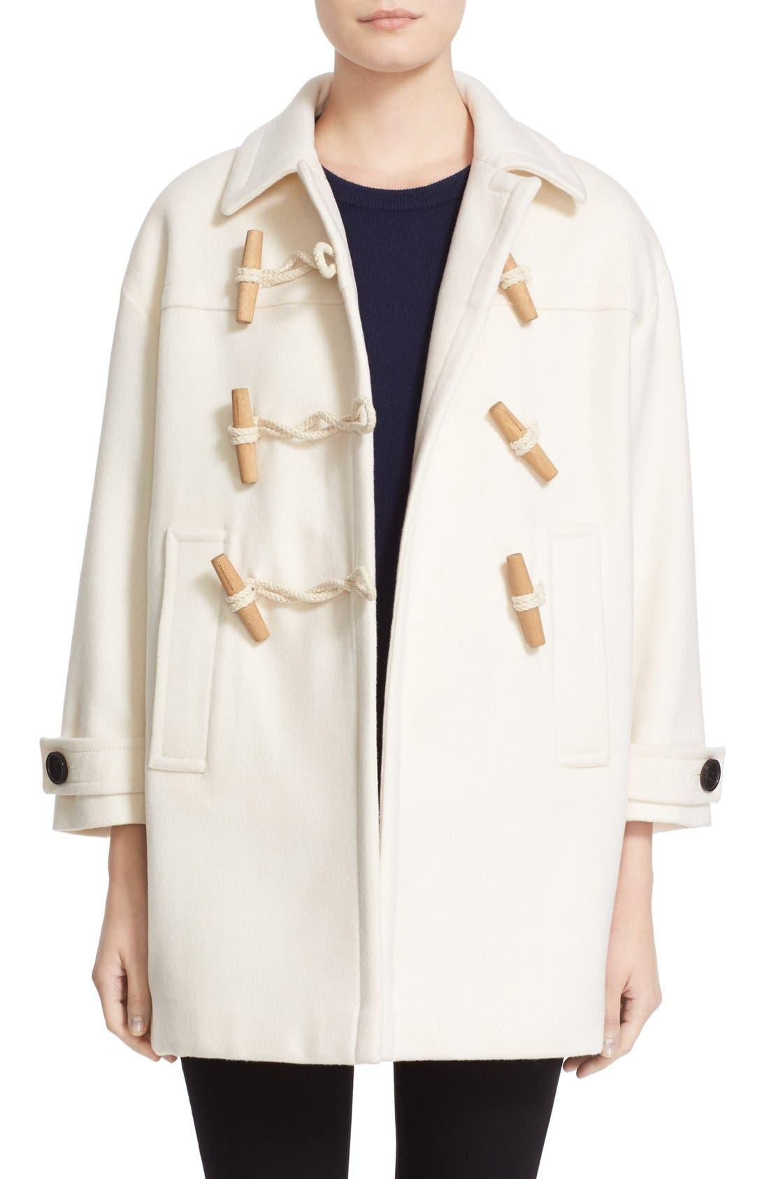 Alternate Image 1 Selected - Burberry Brit 'Plumfield' Cashmere Duffle Coat