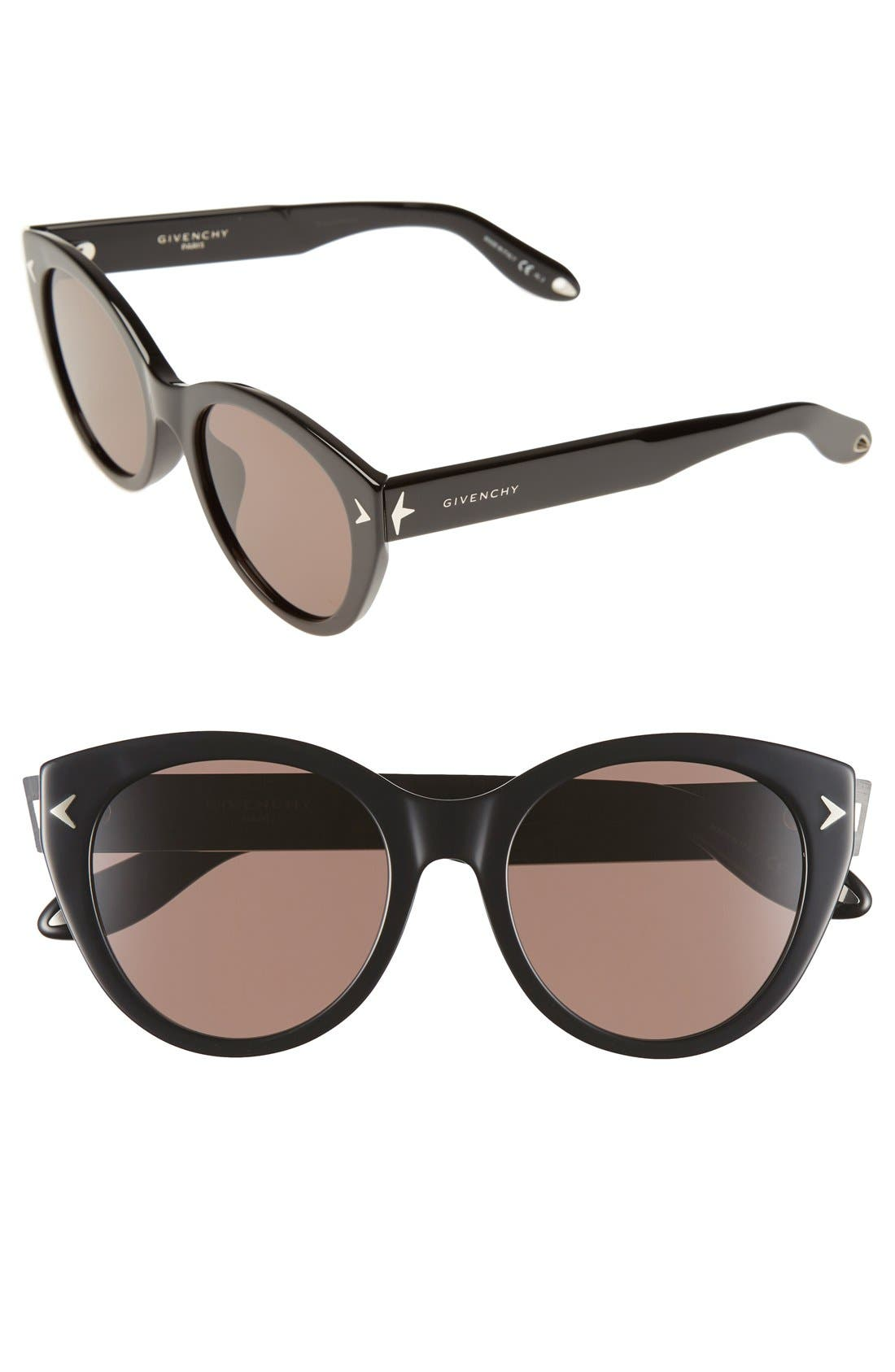 Alternate Image 1 Selected - Givenchy 54mm Round Sunglasses