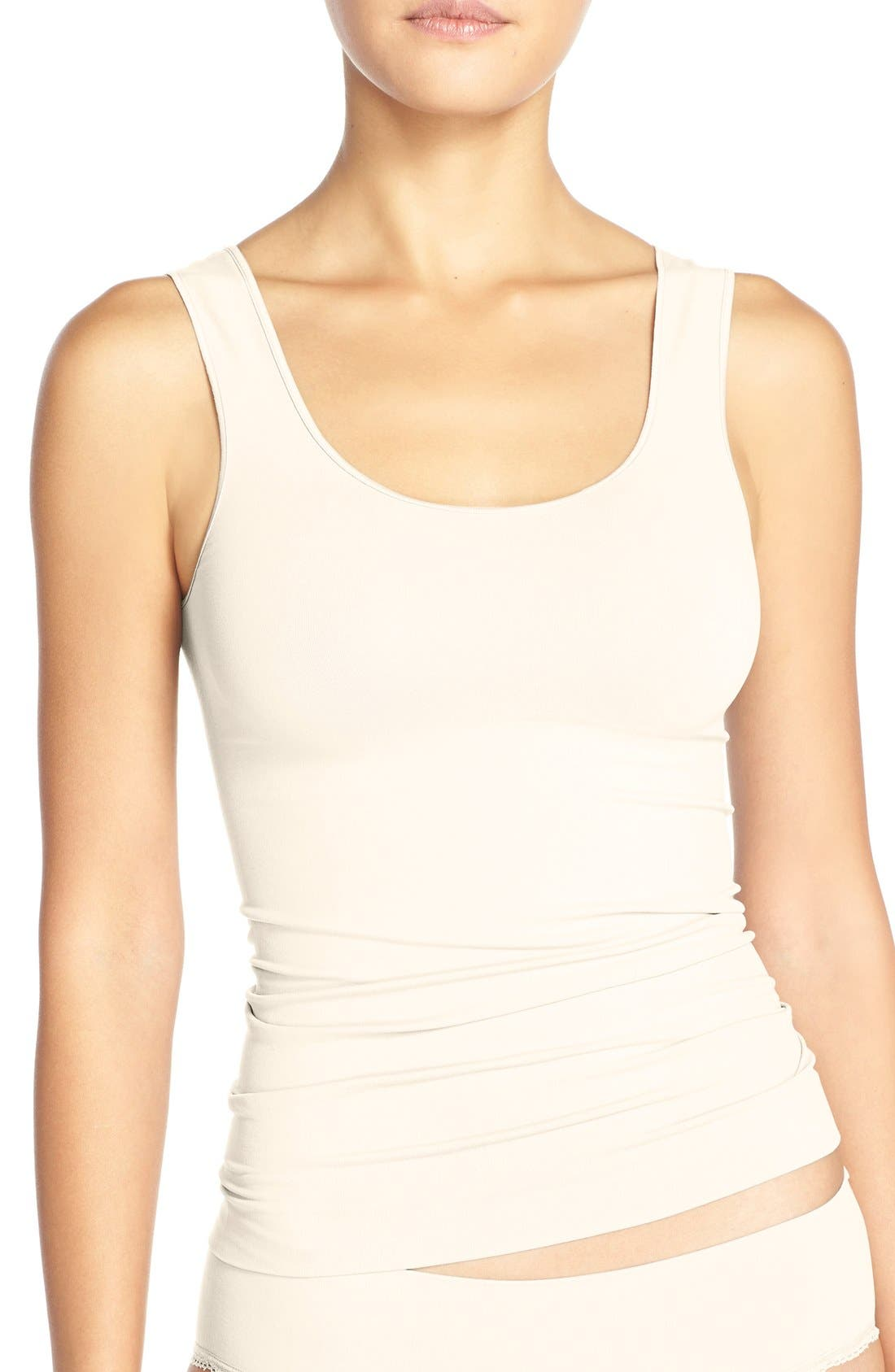 Nordstrom Lingerie Two-Way Seamless Tank (2 for $36)