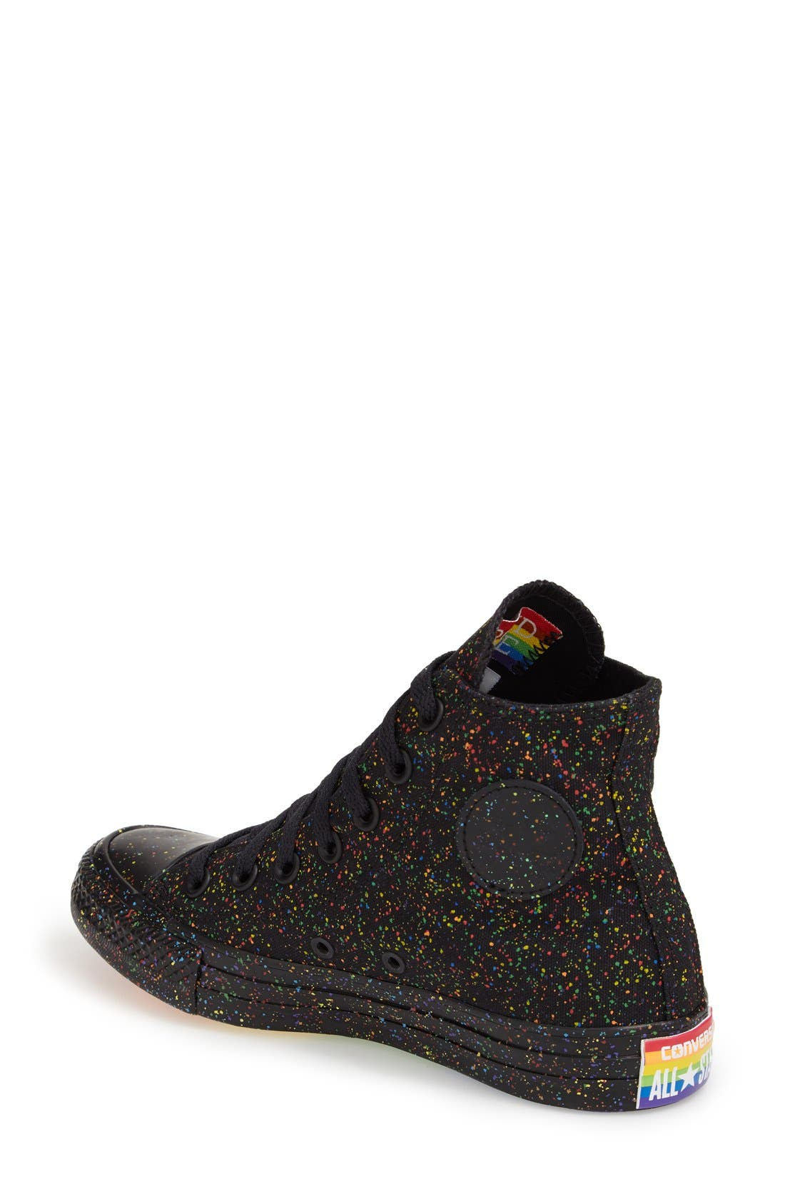 Alternate Image 2  - Converse Chuck Taylor® All Star® 'Pride' High Top Sneaker (Women)