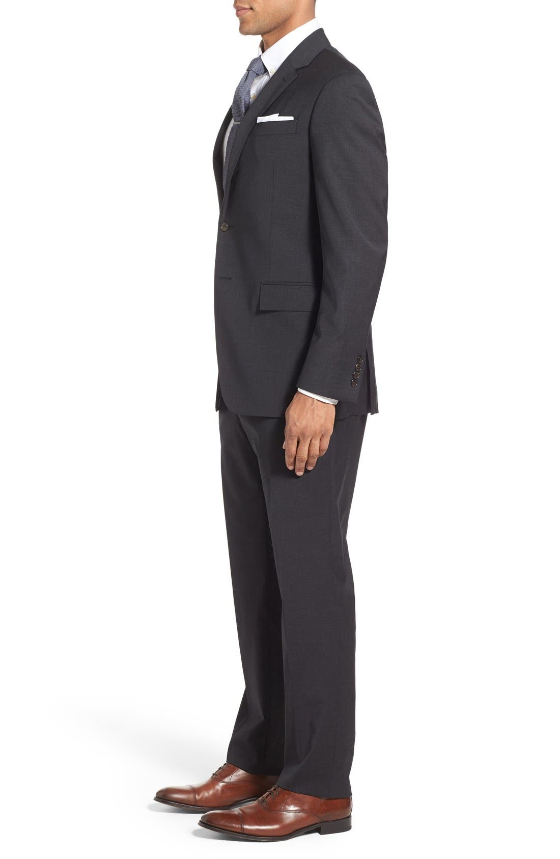 Alternate Image 3  - Todd Snyder White Label 'May Fair' Trim Fit Solid Stretch Wool Suit