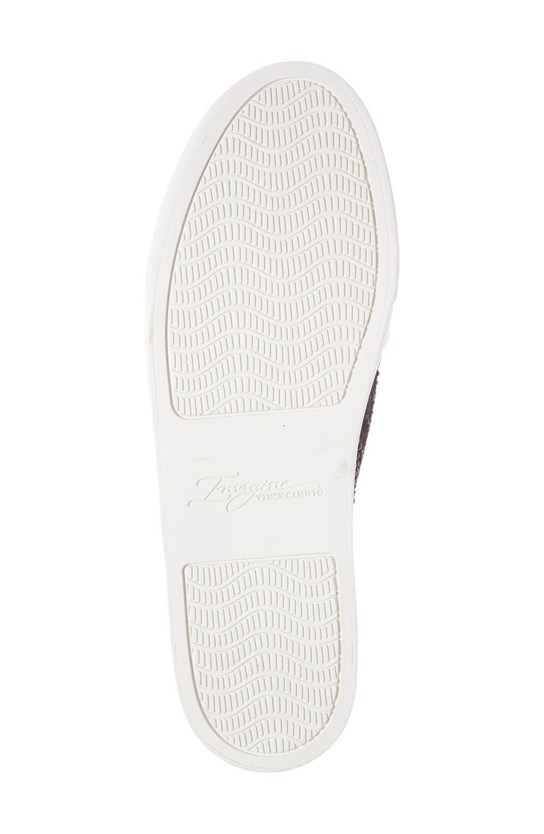 Alternate Image 4  - Vince Camuto 'Imagine Serena' Crystal Embellished Slip-On Sneaker (Women)