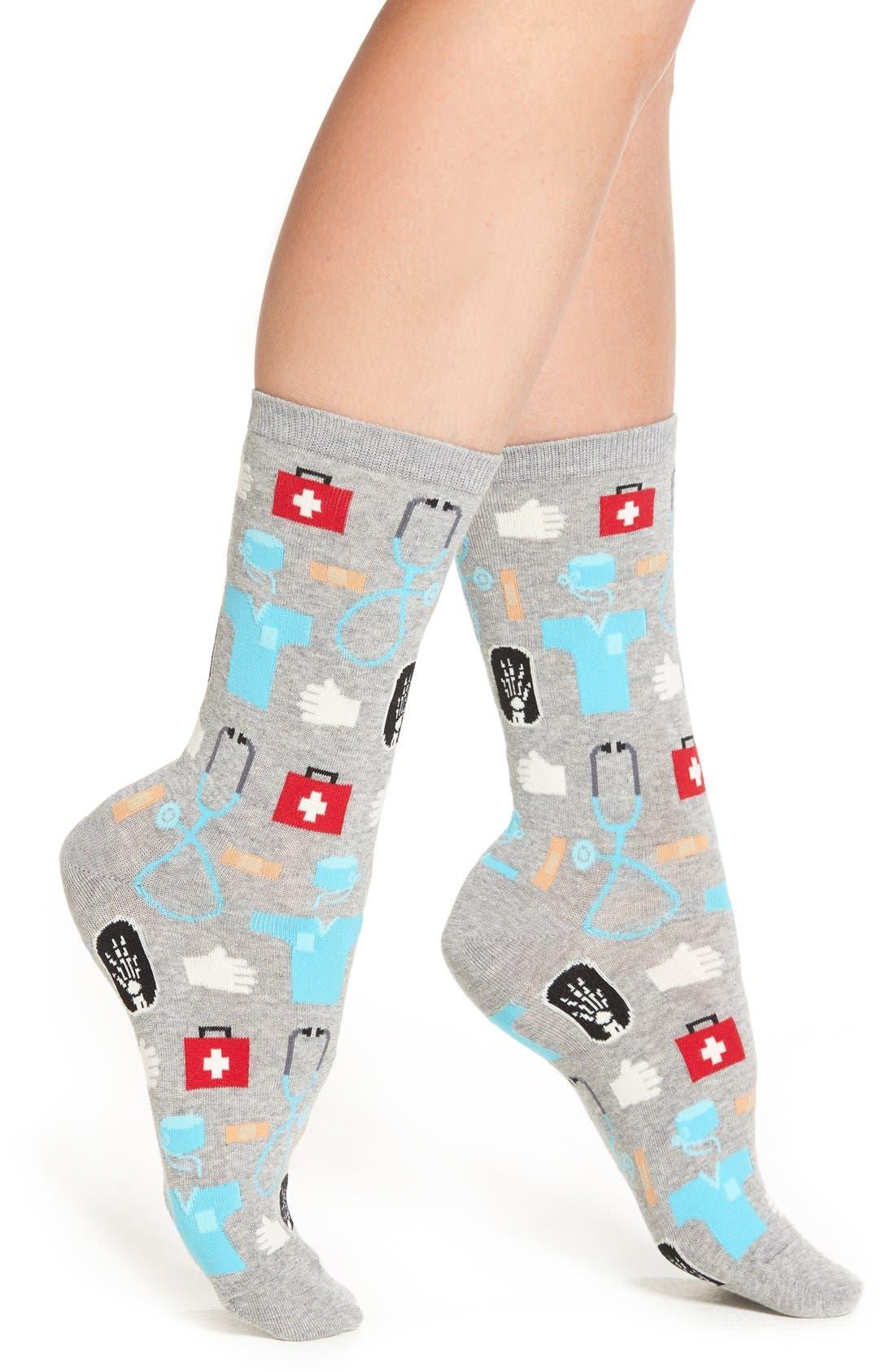 Hot Sox 'Medical' Crew Socks