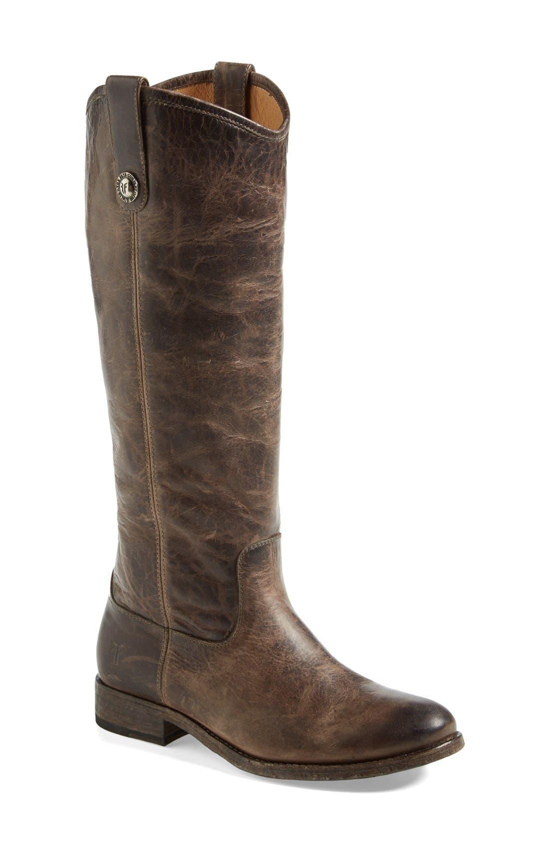 Frye 'Melissa Button' Boot (Extended Calf)